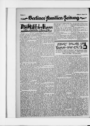 Berliner Volkszeitung vom 23.01.1925