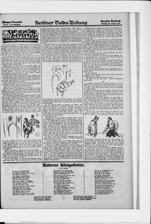 Berliner Volkszeitung vom 25.01.1925