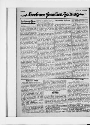 Berliner Volkszeitung vom 26.01.1925