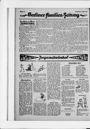 Berliner Volkszeitung vom 31.01.1925