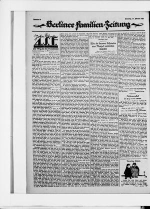 Berliner Volkszeitung vom 17.02.1925