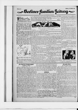 Berliner Volkszeitung vom 23.02.1925