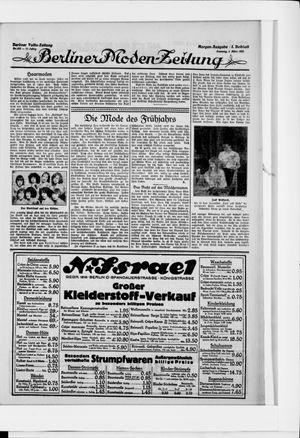 Berliner Volkszeitung vom 01.03.1925