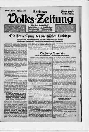 Berliner Volkszeitung on Mar 4, 1925