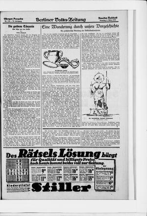 Berliner Volkszeitung vom 08.03.1925