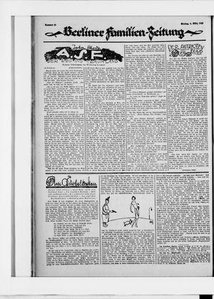 Berliner Volkszeitung vom 09.03.1925