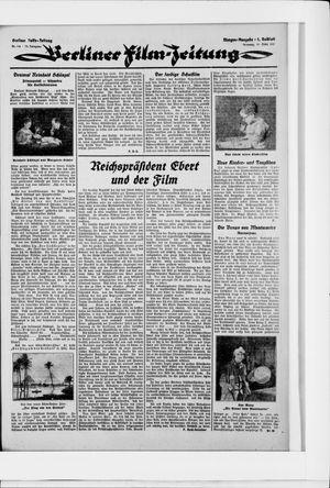 Berliner Volkszeitung vom 10.03.1925