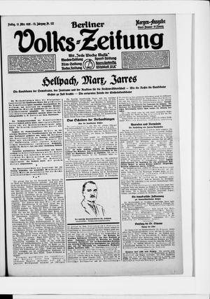 Berliner Volkszeitung vom 13.03.1925