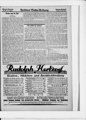 Berliner Volkszeitung vom 15.03.1925