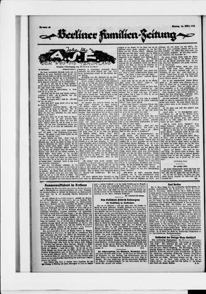 Berliner Volkszeitung vom 16.03.1925