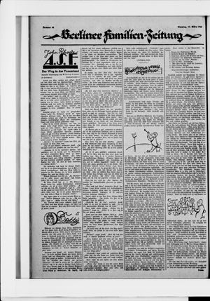 Berliner Volkszeitung on Mar 17, 1925