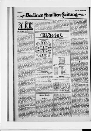 Berliner Volkszeitung vom 18.03.1925