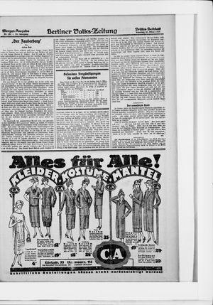 Berliner Volkszeitung vom 22.03.1925