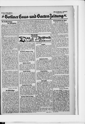 Berliner Volkszeitung on Mar 27, 1925
