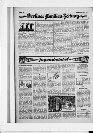 Berliner Volkszeitung vom 28.03.1925