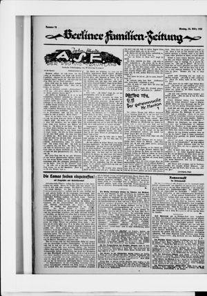 Berliner Volkszeitung vom 30.03.1925
