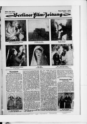 Berliner Volkszeitung vom 31.03.1925