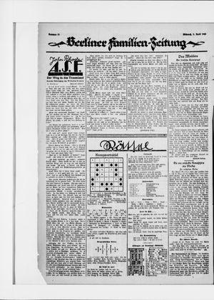 Berliner Volkszeitung vom 01.04.1925