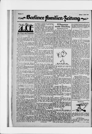 Berliner Volkszeitung vom 03.04.1925