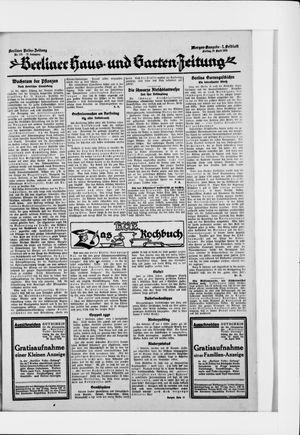 Berliner Volkszeitung vom 10.04.1925