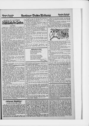 Berliner Volkszeitung vom 12.04.1925