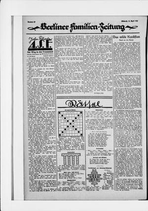 Berliner Volkszeitung vom 15.04.1925