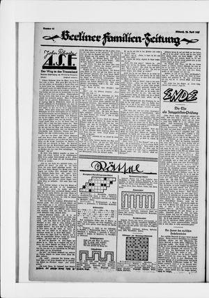 Berliner Volkszeitung vom 22.04.1925