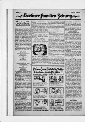 Berliner Volkszeitung vom 24.04.1925