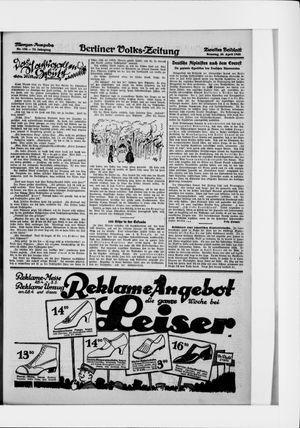 Berliner Volkszeitung on Apr 26, 1925