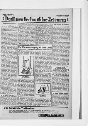 Berliner Volkszeitung vom 30.04.1925