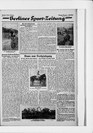 Berliner Volkszeitung vom 05.05.1925