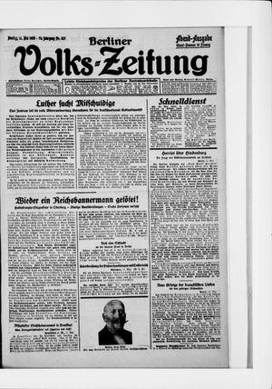 Berliner Volkszeitung vom 11.05.1925