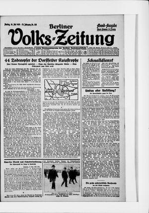 Berliner Volkszeitung vom 18.05.1925
