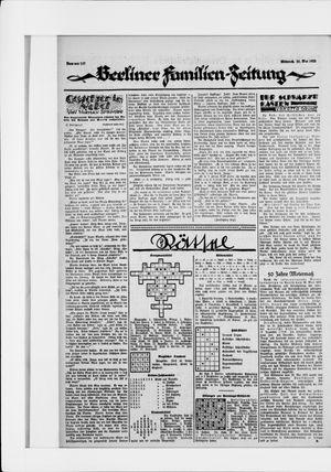 Berliner Volkszeitung on May 20, 1925