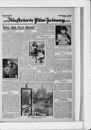Berliner Volkszeitung vom 03.03.1926