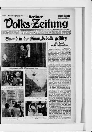 Berliner Volkszeitung vom 06.03.1926