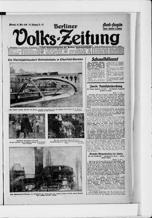 Berliner Volkszeitung vom 10.03.1926