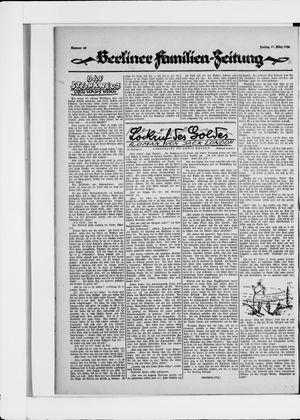 Berliner Volkszeitung vom 12.03.1926
