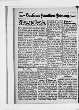 Berliner Volkszeitung vom 15.03.1926