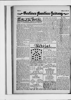 Berliner Volkszeitung vom 17.03.1926