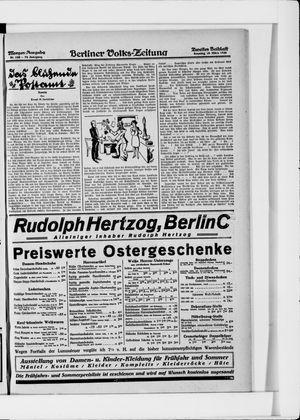 Berliner Volkszeitung vom 28.03.1926