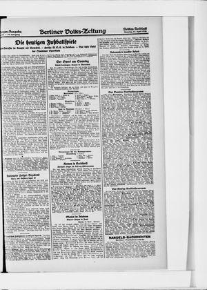 Berliner Volkszeitung vom 11.04.1926