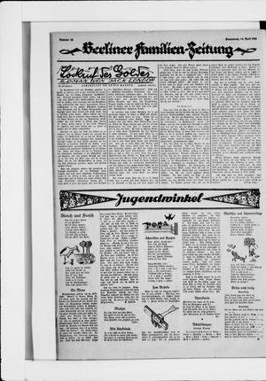 Berliner Volkszeitung on Apr 24, 1926