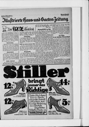 Berliner Volkszeitung vom 30.04.1926