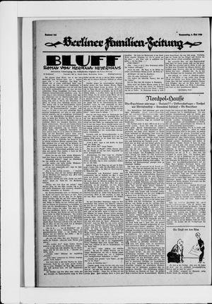 Berliner Volkszeitung vom 06.05.1926