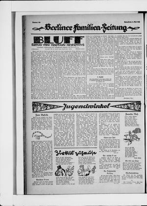 Berliner Volkszeitung vom 08.05.1926
