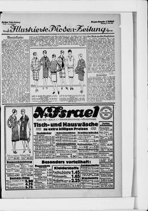 Berliner Volkszeitung vom 09.05.1926