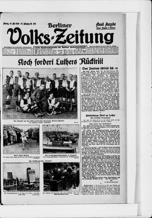 Berliner Volkszeitung vom 10.05.1926