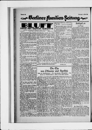 Berliner Volkszeitung vom 11.05.1926