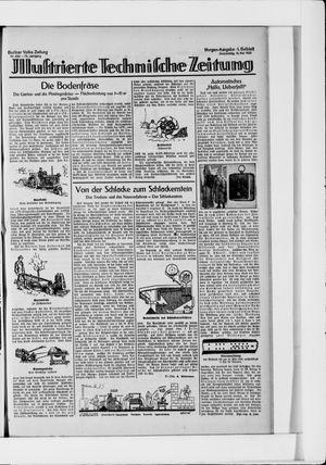 Berliner Volkszeitung on May 13, 1926